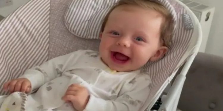 Five-month-old baby 'turning to stone' due to rare genetic disease 1