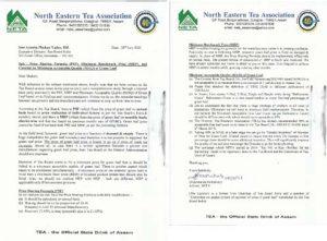 Rectify Price Sharing Formula, Minimum Benchmark Price, North Eastern Tea Association tells Tea Board 4