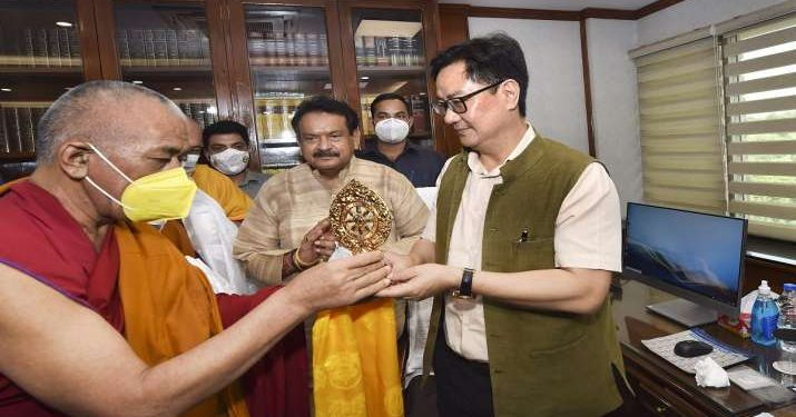 Kiren Rijiju on Thursday took charge as the new minister of Law and Justice.