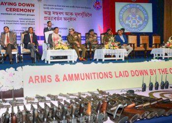 militants surrender