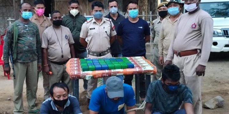 Huge cache of drugs seized along Assam-Nagaland border, three held 1