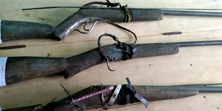 hand-made guns