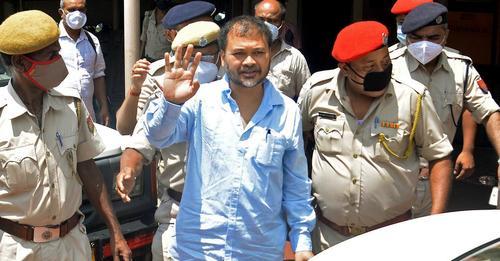 Assam: Raijor Dal chief Akhil Gogoi walks out of jail 1