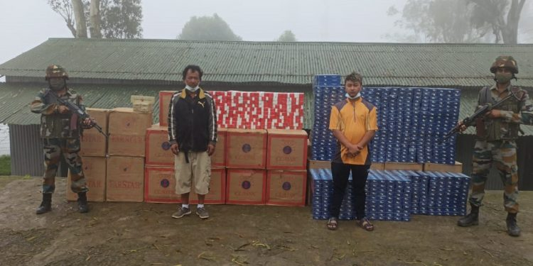 Foreign cigarettes worth over Rs 1 crore seized by Assam Rifles troopers in Mizoram 1