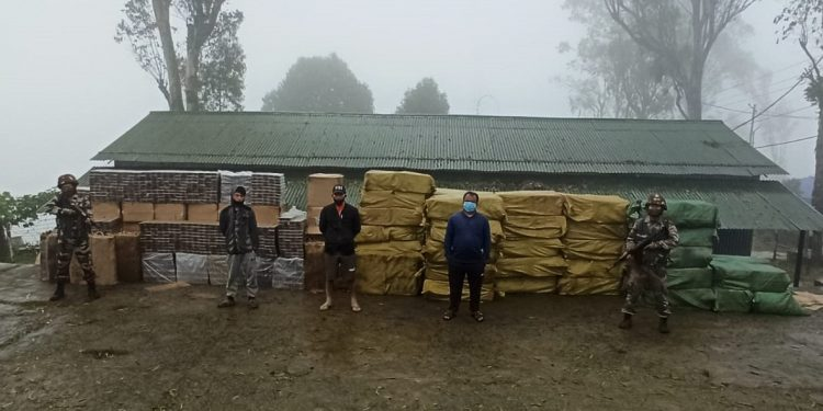 Foreign cigarettes worth over Rs 6.5 crores recovered by Assam Rifles troopers in Mizoram 1