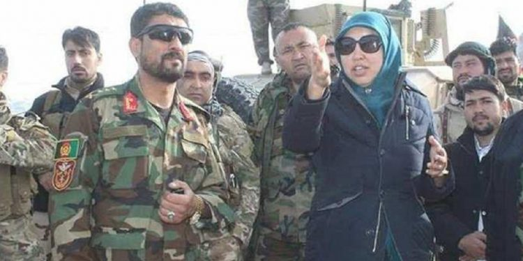 Salima Mazari, who took up arms against Taliban, captured in Afghanistan 1