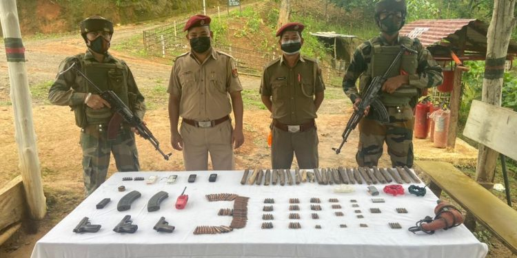 Mizoram: Security forces recover arms and ammunition from Lawngtlai near India-Myanmar border 1
