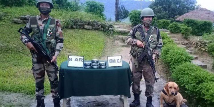 Heroin, foreign cigarettes seized in Mizoram along Myanmar border 1