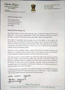Meghalaya MP Agatha Sangma opposes unilateral imposition of NMEO-OP in Northeast, writes to PM Modi 4