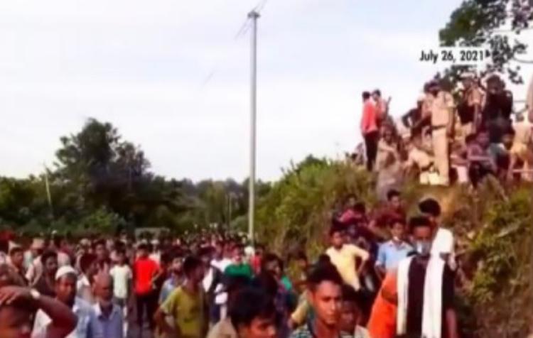 Assam-Mizoram border 1
