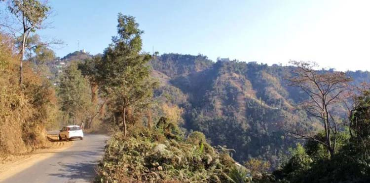 Assam-Mizoram border