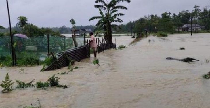 Two dead in Assam flood, situation worsens 1