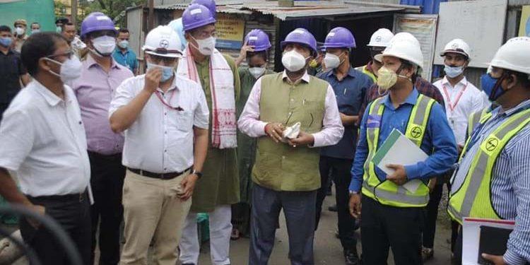 Assam health minister visits cancer hospital in Lakhimpur