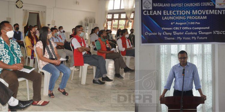 Nagaland Baptist Churches Council launches clean election movement in Tuensang 1