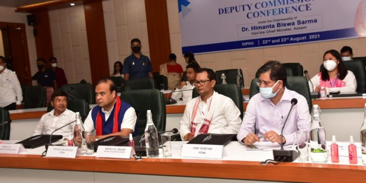 Assam CM meets DCs at Diphu, says conference with DCs, SPs to be held every six months 1