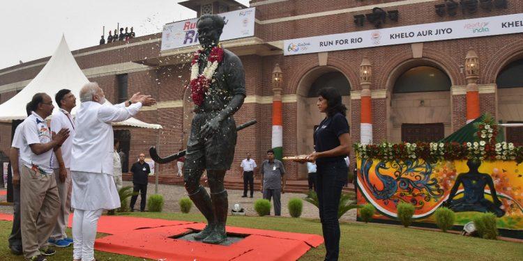 Rajiv Gandhi Khel Ratna Award renamed after hockey legend Major Dhyan Chand 1