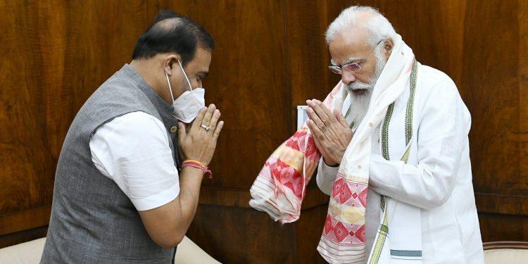 Assam CM Himanta Biswa Sarma meets PM Narendra Modi in New Delhi 1