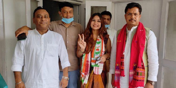 Assam Congress welcomes Naiwrita Joy Shukla in party as Sushmita Dev's replacement in Barak Valley 1