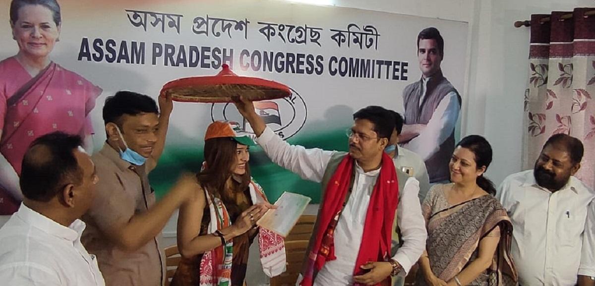 Assam Congress welcomes Naiwrita Joy Shukla in party as Sushmita Dev's replacement in Barak Valley 5