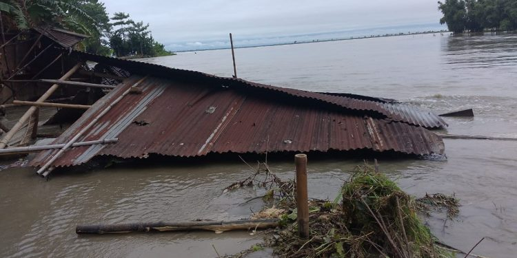 Flood situation in Assam grim, over 2.25 lakh people in 15 districts affected 1
