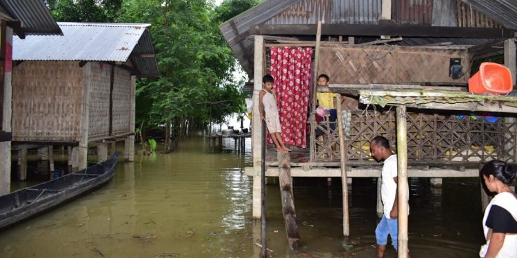 Assam flood situation worsens: Death toll mounts to three, 5.74 lakh people affected 1