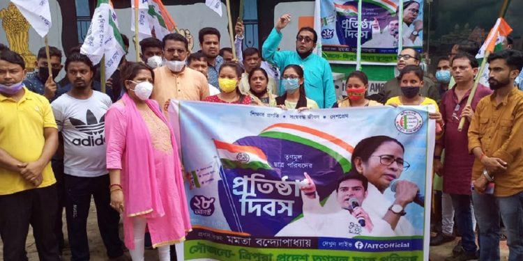 TMCP members in Tripura.