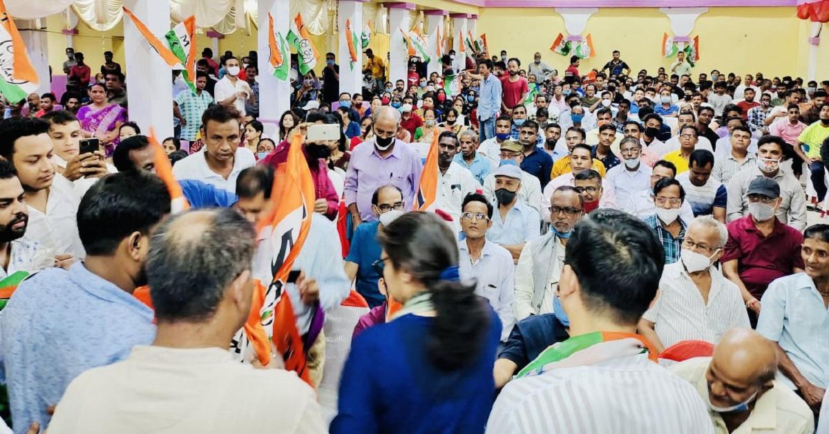 Assam: Massive TMC membership drive kick-starts in Silchar 5