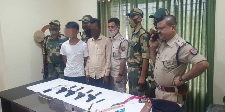 Assam: Arms smuggling racket busted in Karimganj 1