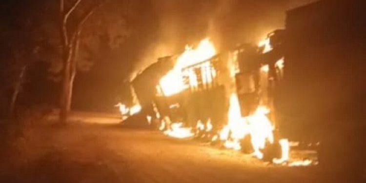 Assam: 5 killed as suspected DNLA militants open indiscriminate firing, torch trucks 1