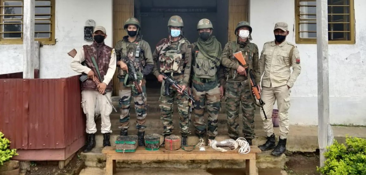 Manipur: Security forces foil major IED attack, recover explosives from near India-Myanmar border 5