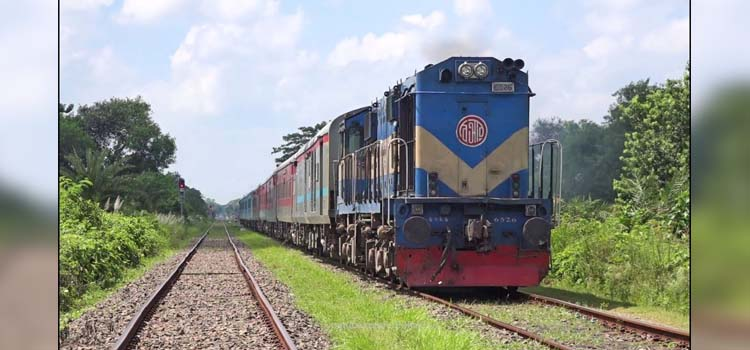 India-Bangladesh railway line