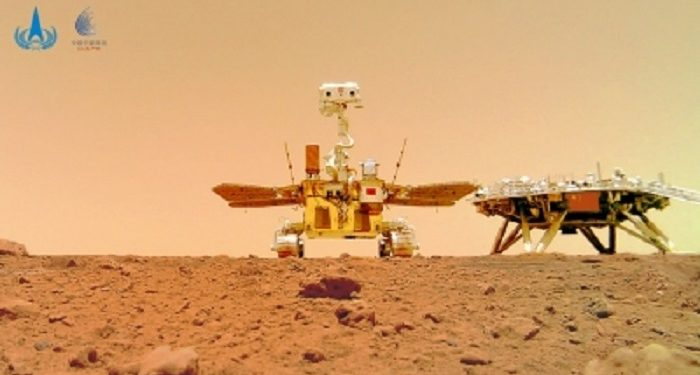 China: Mars rover accomplishes planned exploration tasks 1