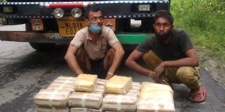 Biggest drug haul in Mizoram: Two Assam's smugglers held in Aizawl 1