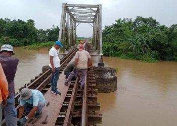NF Railway flood
