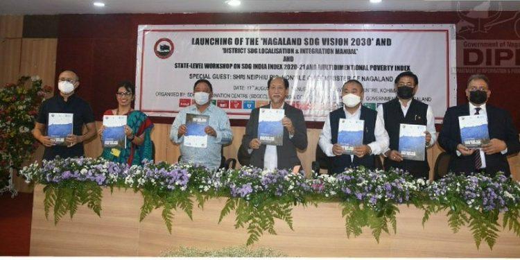 CM Neiphiu Rio launches Nagaland SDG Vision 2030 1