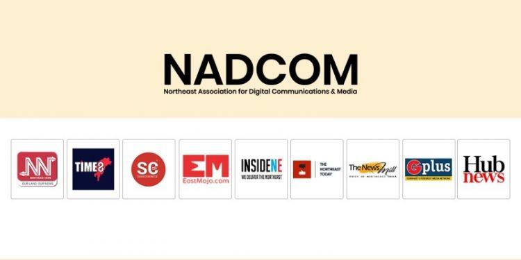 9 leading digital media platforms of Northeast join hands to launch media body NADCOM 1