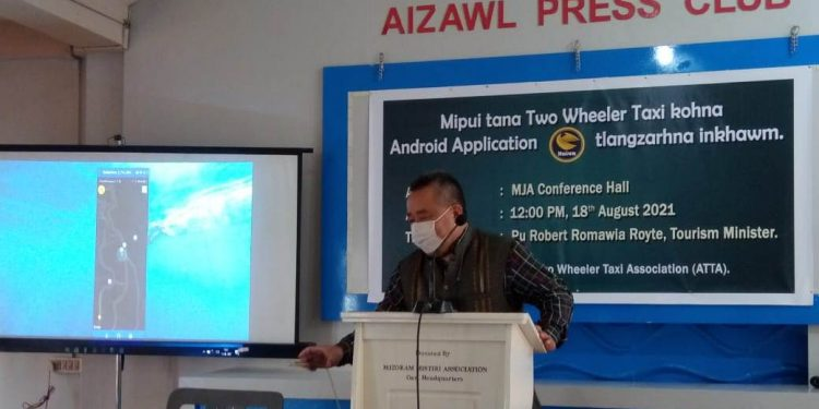Mizoram: Uber-like app launched in Aizawl to offer hassle-free ride 1