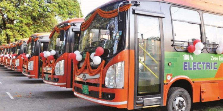 Assam government plans replacing diesel-run city buses in Guwahati with electric and CNG buses 1