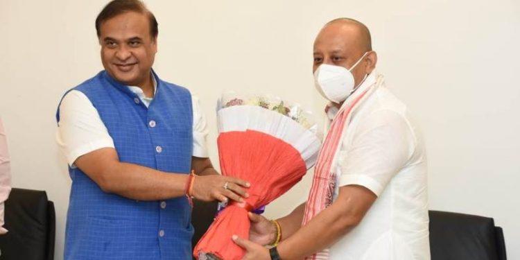 Assam: Two-time Congress MLA Sushanta Borgohain joins BJP 1