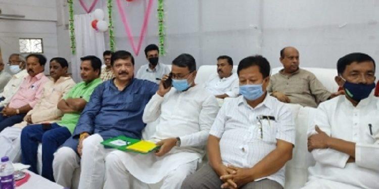 The five MLAs are Sudip Roy Barman, Ashis Kumar Saha, Diba Chandra Hrangkhawl, Ashis Das, and Burba Mohan Tripura.