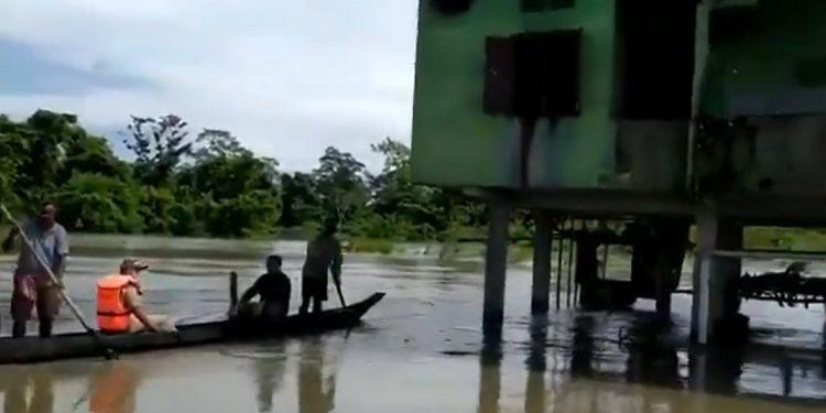Assam floods: Over 150 forest camps in Kaziranga National Park reel under water 1