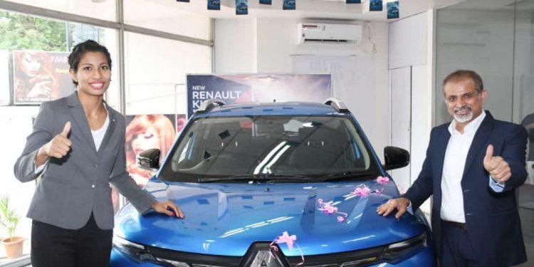 Renault gifts new car to Olympic medalist Lovlina Borgohain 1