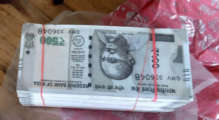 Assam: Darrang Police busts fake Indian currency racket, arrests 2 4