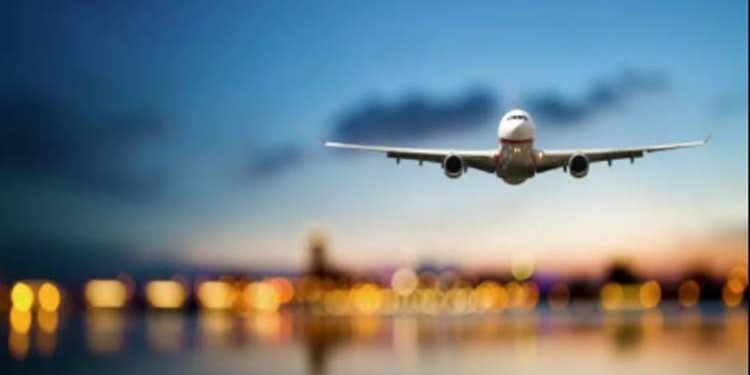 international flight plane