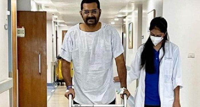 IPS officer Vaibhav Nimbalkar, who was critically injured in Assam-Mizoram border clash, recovering at Mumbai hospital 1