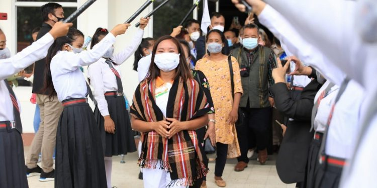 First female Olympian from Mizoram accorded hero's welcome in Aizawl 1