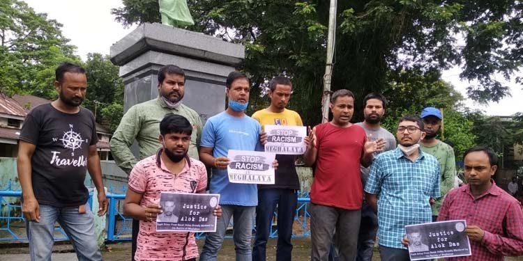 protest against Assam driver killing