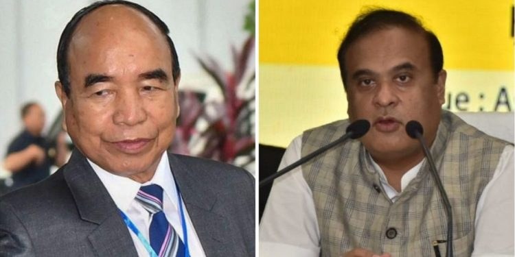 Mizoram CM Zoramthanga directs police to withdraw FIR against Assam CM and six others 1