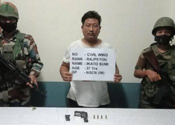 Nagaland: NSCN-IM cadre held in Dimapur 3
