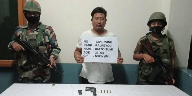Nagaland: NSCN-IM cadre held in Dimapur 1